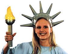 Statue Of Liberty Set Plastic Crown Torch America Patriotic
