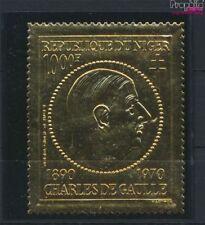 Niger 279 (compleet Kwestie) postfris MNH 1971 Charles de Gaulle (9264876