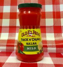 Play Food Mexican Old El Paso SALSA Jar Bottle Fun For Tikes Kitchen Cooking CDI