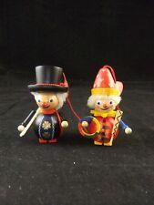 Steinbach German Wood Christmas Ornaments Chimney Sweep Clown