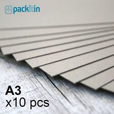 A3 Backing Boards - 10 sheets 700gsm - chipboard boxboard cardboard recycled