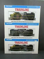 Erie Railroad FA-1 FB-1 A-B-A Set All Powered DC Walthers Trainline New In Box