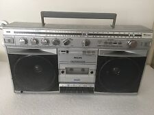 Philips D8523 Powerplay Machine Ghettoblaster 30 Watt Stark Fully Working
