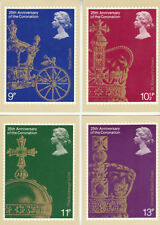 Coronation Collectable Postcard Sets