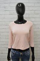 Maglia CALVIN KLEIN Donna Taglia Size M Maglietta Blusa Shirt Woman Manica Lunga