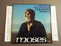MOSES ORIGINAL SOUNDTRACK 1ST PRESS PROMO LP ENNIO MORRICONE TBL1-1106