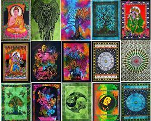 Mandala 24pics Lot Wall Hanging Hippie Boho Indian Cotton Wholesale Poster Bulk