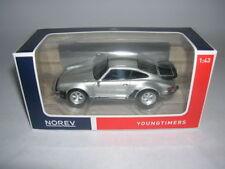 Norev YOUNGTIMERS Porsche 911 Turbo 3,3 Argento Argento, 1:43 Articolo 430201