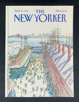 COVER ONLY ~ The New Yorker Magazine, April 30, 1984 ~ Arthur Getz