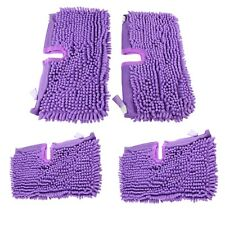 4 Pack of Microfibre Coral Pads Covers Cloths For Shark S3501 S3601 S3901 Mops