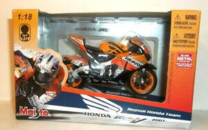 2007 MAISTO 1:18 DANI PEDROSA #26 2007 REPSOL HONDA RC212V MOTO GP