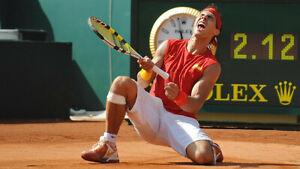 Nike Dri-Fit Tennis Bandana (Red) worn by Rafael Nadal / 2008 Davis Cup - RARE -