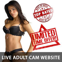 RARE Full Functional LIVE CAMGIRLS Website Business 4 sale - Hundreds of Models!