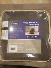 Sure Fit® Deluxe Non-Skid Waterproof  SOFA Furniture Cover in Graphite