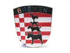 Bremen Metall Magnet Stadtmusikanten Wappen Germany Souvenir