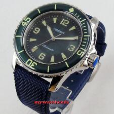 45mm CORGEUT green dial super luminous date window Automatic mens watch C115