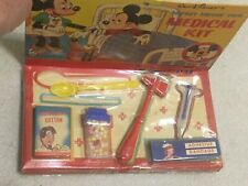 Vintage 1950's Hasbro Disney Mickey Mouse Club Medical Kit W/ Box Unopened