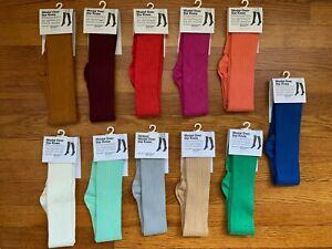 Vtg. American Apparel Modal Ribbed Over the Knee Socks USA Made