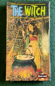 NEW Rare Polar Lights 5092 The Witch (Factory Sealed)