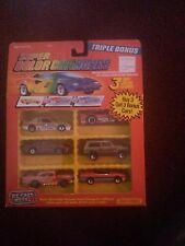 1988 Matchbox Super Color Changers 6 Car Set *RARE items, pink 57 chevy