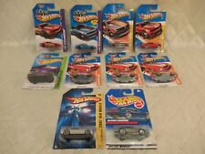 Hot Wheels Camaro ZL1 Z28 Track Stars Workshop Showroom New Models Lot of 10 New