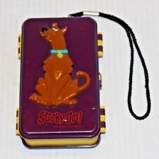 Hanna-Barbera 2004 Scooby-Doo! Purple & Yellow Double Sided Tackle Box FREE Ship