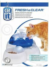 New listing Catit Fresh & Clear Drinking Fountain for Cats and Puppies New!