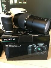 FUJiFILM Finepix WHITE S8350 16 mp 42x zoom Digital Camera + Video + Accessories