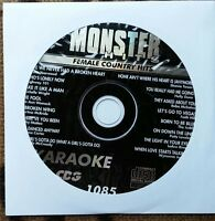 FEMALE COUNTRY HITS KARAOKE CDG MONSTER HITS CD+G MH1085 - LEE ANN WOMACK,REBA