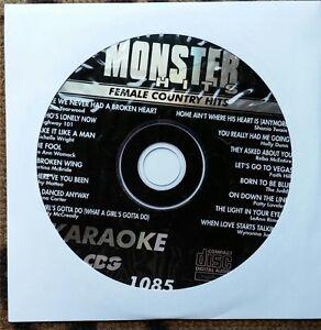 FEMALE COUNTRY HITS KARAOKE CDG MONSTER HITS CD+G MH1085 - LEE ANN WOMACK,REBA