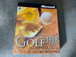 Microsoft Golf 1998 Edition (Windows PC) - Big Box Game - NEW & SEALED