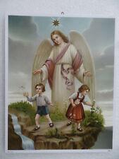 Schutzengelbild Nr 27 Wand Engel Bild Kinder Geschenk 21 x 26 cm Sonderpreis