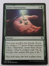 Giant Opportunity Throne of Eldraine Mtg Card Mint Condition