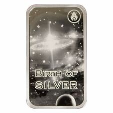 New listing Birth of Silver   Reddit Silverbugs   1 oz Silver Proof Bar In Air-Tite Case