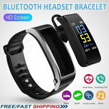 Bluetooth IY3 2-in-1 Smart Bracelet With Bluetooth Earphone High Quality UK w7