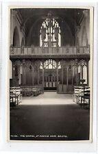 THE CHAPEL, ST MONICA'S HOME: Bristol postcard (C26056)