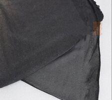 1pcs 1.75 м черный тонкий динамик гриль ткань сетка динамик стерео решетка ткань Сделай сам