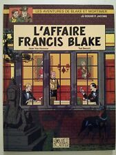 BLAKE ET MORTIMER ** TOME 12 (13) L AFFAIRE FRANCIS BLAKE ** EO 1996 TED BENOIT