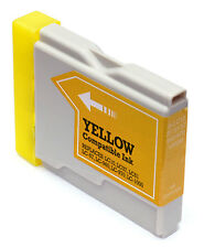 1 x Jetplay LC1000Y remanufactured Yellow Brother LC970 LC1000 Y ink cartridge