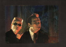 The Riddler & Two-Face--1995 Batman Forever--Fleer Metal Gold Blaster Foil Card