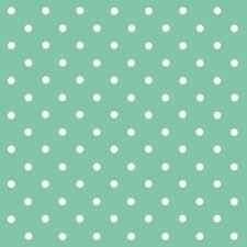 d-c-fix Sticky Back Plastic Self Adhesive Vinyl Wrap Polka Dot Mint 45cm x 1m