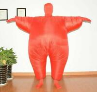 AirSuits Inflatable Fat Chub Suit Fancy Dress Party Costume, Red, Green & Blue