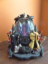 Disney Villains Ursula Maleficent Evil Queen Chernabog Cruella Music Snow Globe