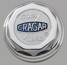 Cragar Center Cap Bolt-On Decagon Chrome Aluminum 6026115 Cragar Logo