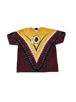 VTG 2000s Washington Redskins NFL Tie Dye Football Team Logo T Shirt Men's 2XL