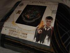 Harry Potter Hogwarts Gryffindor Slytherin Magical Plush Fleece Throw Blanket Hp