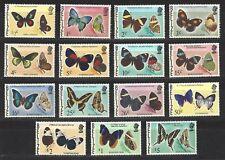 BELIZE, # 345-359, MNH,  BUTTERFLIES