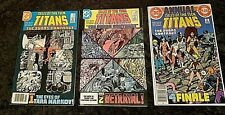 New listing Tales Of The New Teen Titans #42, 43 & Annual 3 Dc Comics 1984 Judas Contract