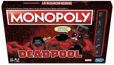 Hasbro Deadpool Monopoly Special Edition Marvel Board Game - Hasbro UK