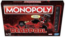 Deadpool Monopoly Special Edition Marvel Board Game - Hasbro